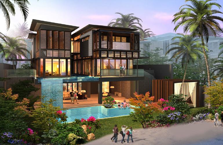 三亚 亚龙湾水岸君悦主力户型为建面155.76-407.71㎡三-六居室,价格待定,敬请关注!