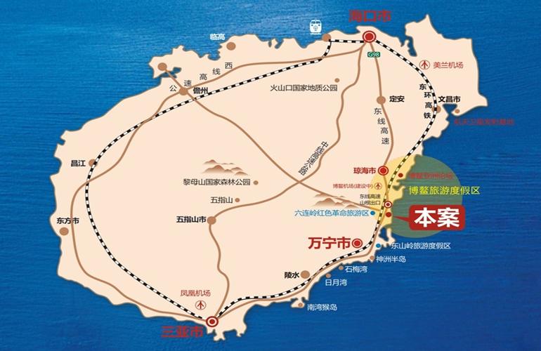 南洋印象交通图