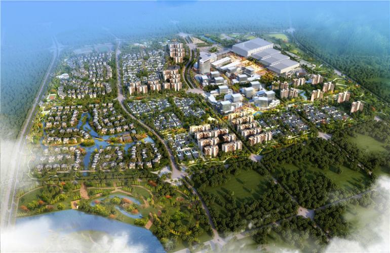 保利海棠湾鸟瞰图
