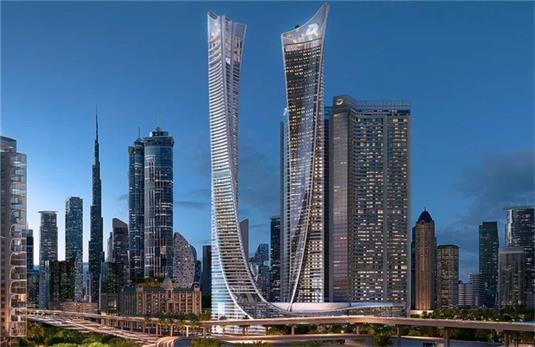 Aykon city 迪拜运河城