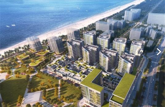 三亞萬科海上大都會左岸三至四居親海住宅在售