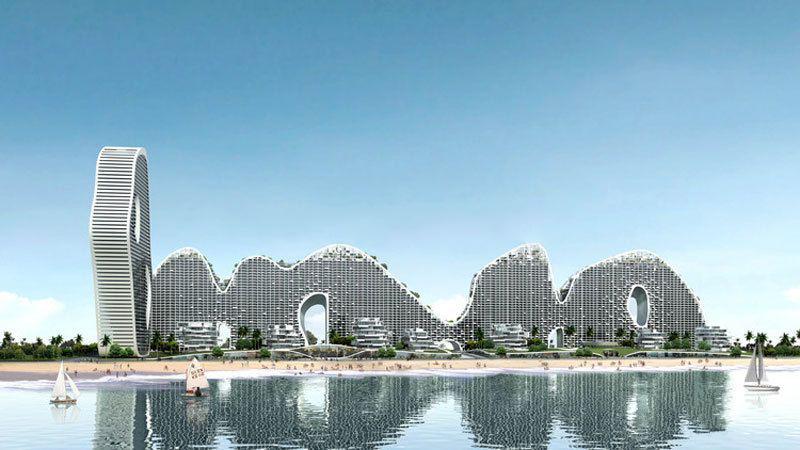 北海北部湾一号项目二期在售楼栋雅苑海寰阁、海淳阁,均价15000元/㎡