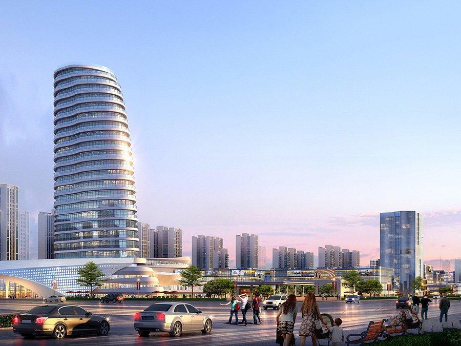 北海中港城项目在售长沙湾1#、3#、8#、9#、10#楼,均价6000元/㎡
