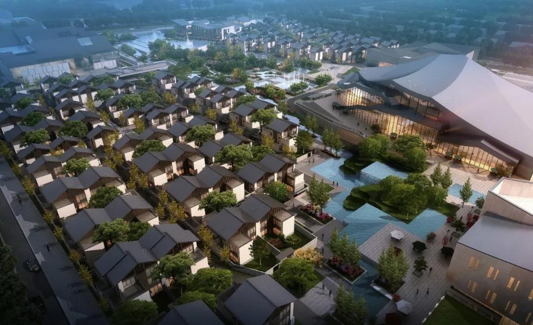 丽江金茂谷镇一到三期项目建面130-459㎡合院在售 大入户庭院