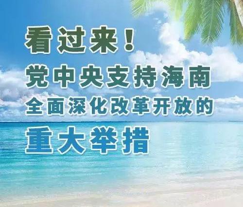 海南自由贸易港建成有什么好处,关于税收要怎样收费?