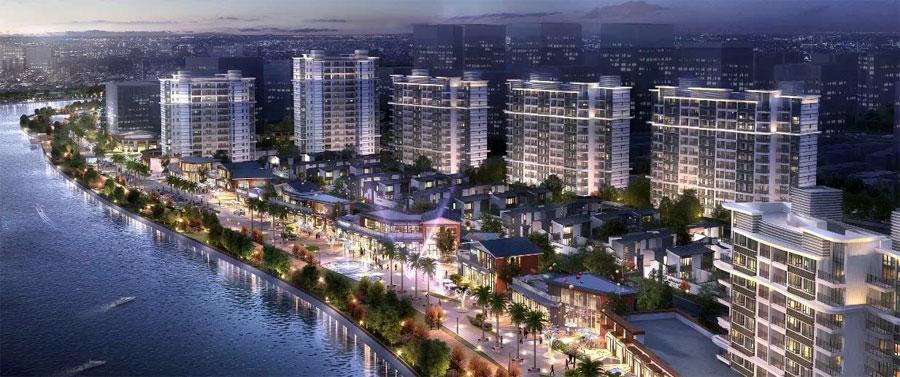 北海雅居乐金海湾项目在售精装板式洋房,均价7000元/㎡