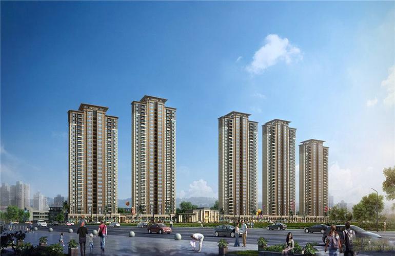 惠州【保利和悦华锦】加推三房至四房,全南向板式户型