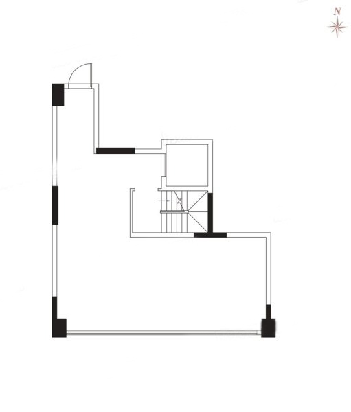 A1户型地下室 4房2厅 建面:150㎡