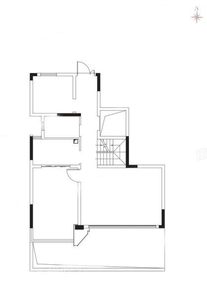 A1户型叠下 4房2厅 建面:150㎡