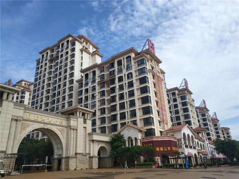 衍宏海港小镇实景图