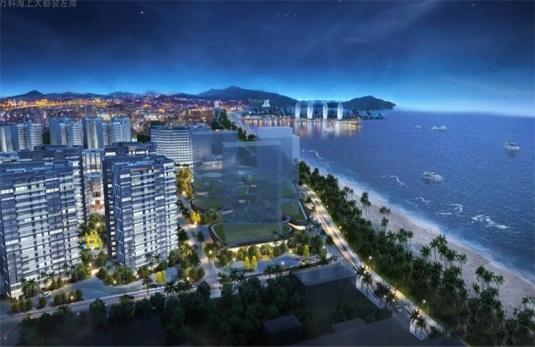 三亚碧桂园海上大都会瞰海洋房及商业公寓在售