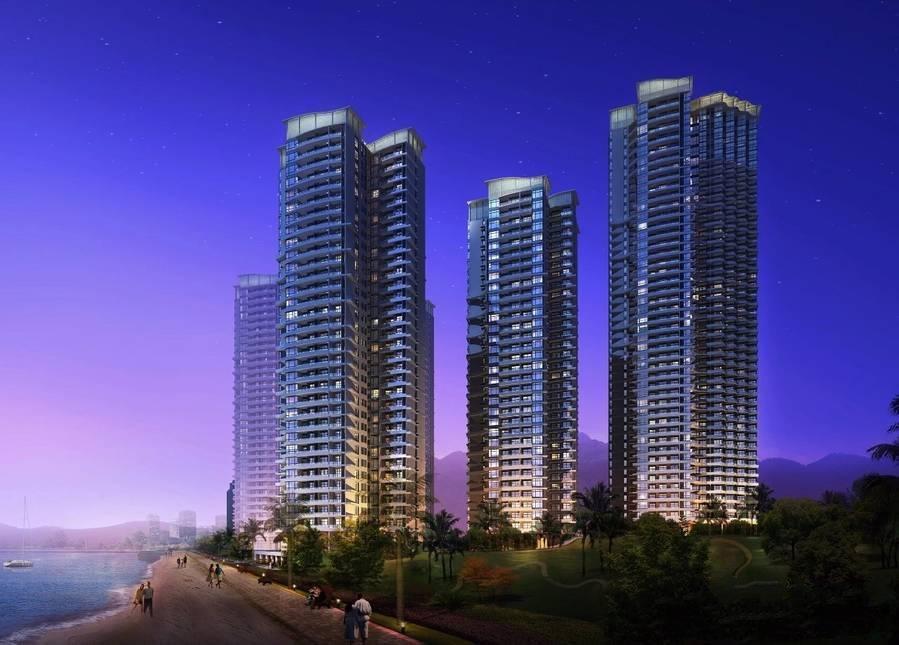 北海强盛城市海岸项目目前3#、4#楼在预约中,均价12000元/㎡