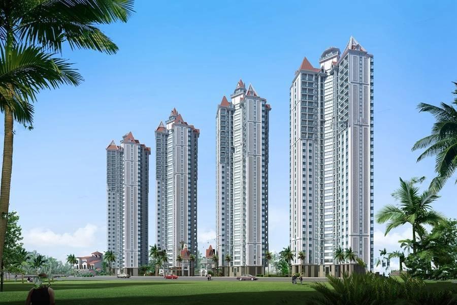 北海明业海逸豪园项目目前现房5#楼在售,均价14300元/㎡