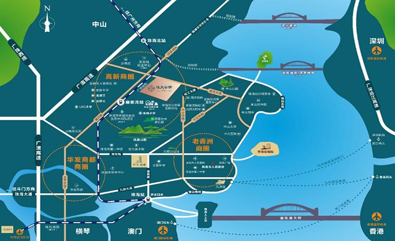 恒大云锦交通图