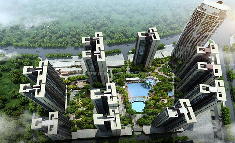 惠州 富康锦绣壹号六大坪山生态公园环绕,在售价格20000元/㎡起!