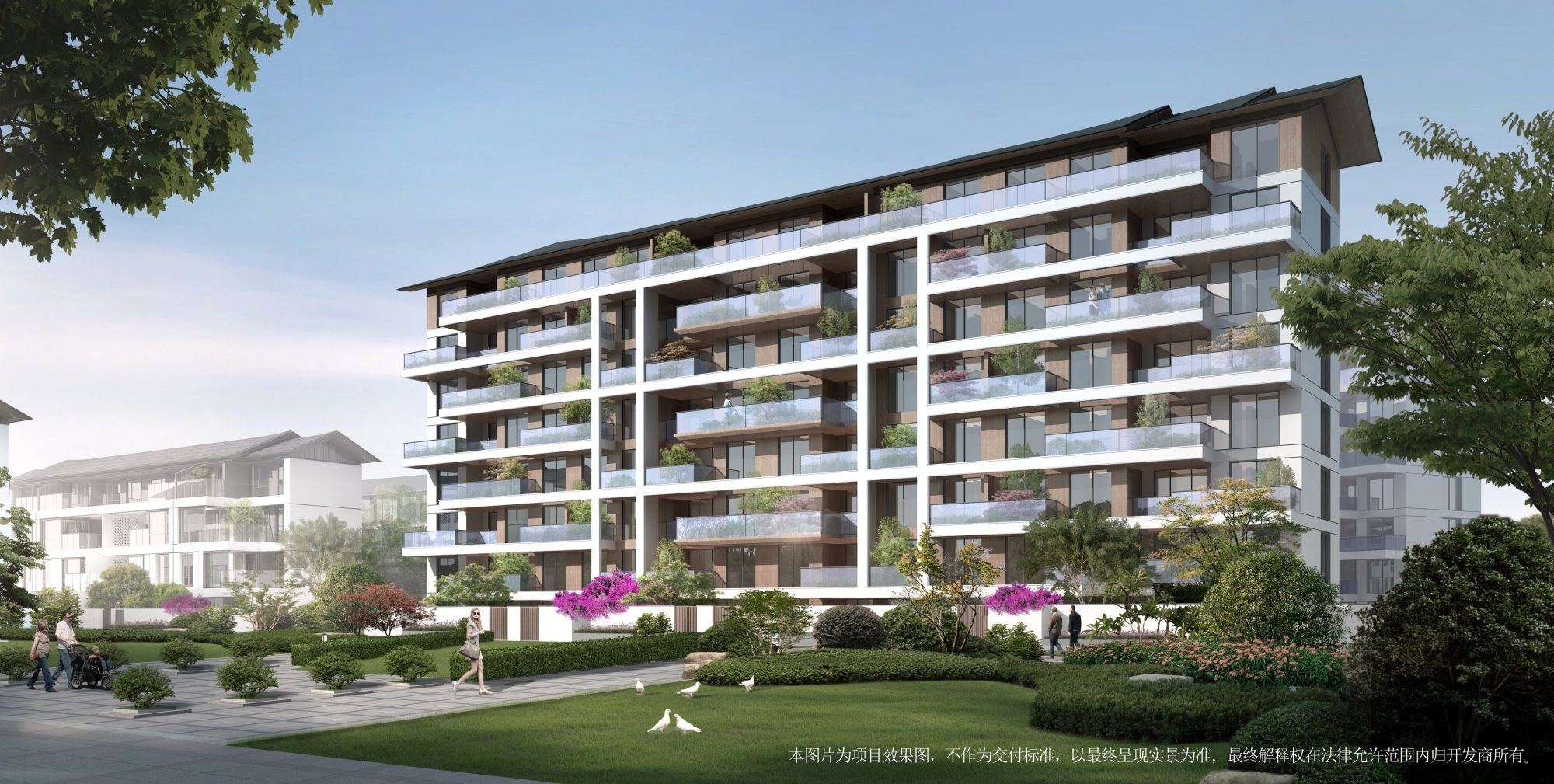丽江绿城桃花源在售洋房、空中小院、合院,共计685套房源在售