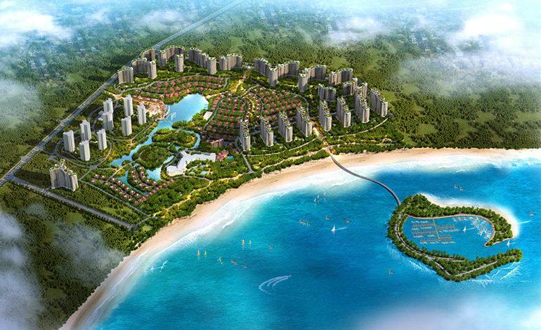 碧桂园东海岸鸟瞰图
