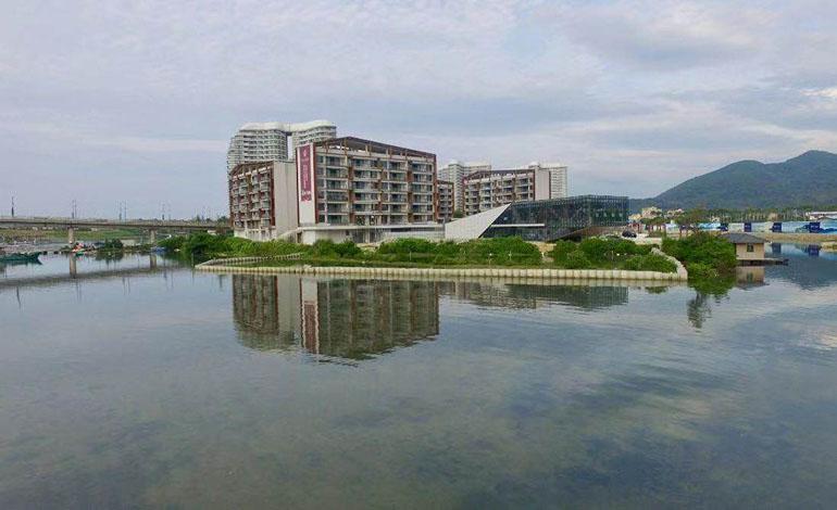 国安七星海岸实景图