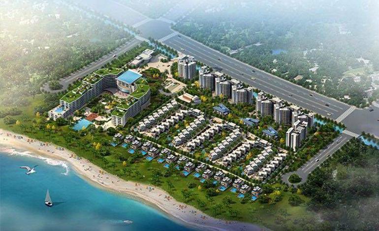 龙沐湾碧海银滩