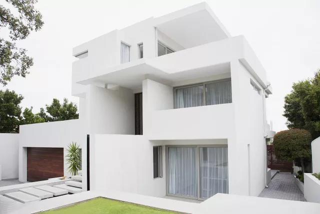 优雅无痕,白色在建筑中的运用