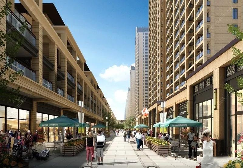 钦州华发壹号项目高层、临街天地楼、商铺同步在售中