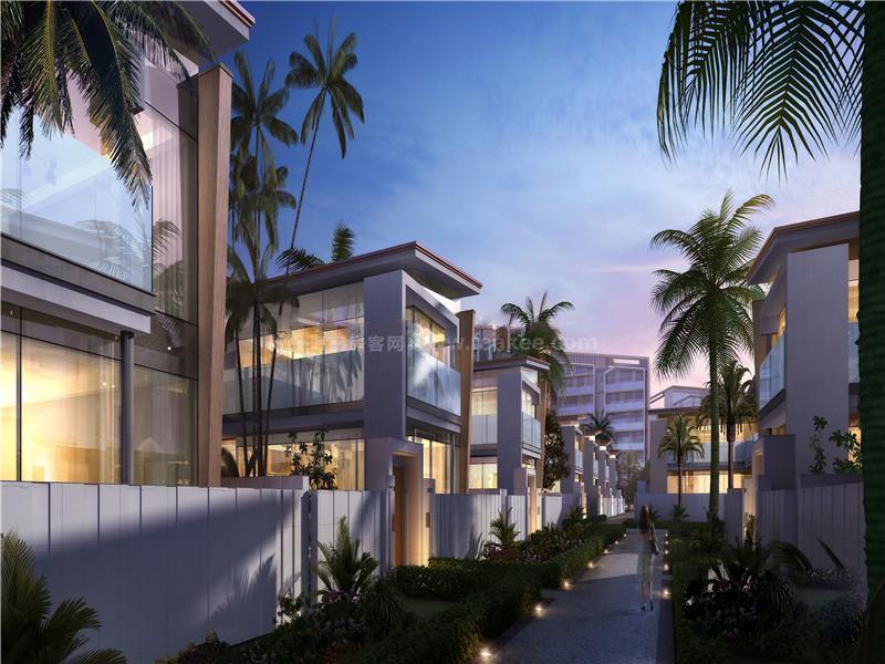 三亚国广海棠湾在售的洋房户型建面116㎡-120㎡的3居,均价32000元/㎡