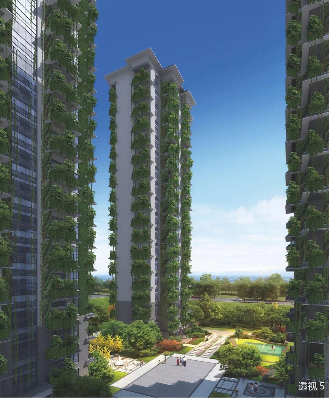 大理天空院,大理市政府旁,垂直森林式居住建筑