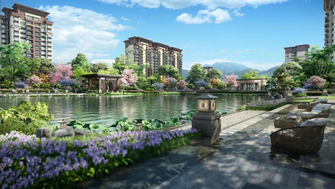 澄迈恒大悦珑湾,坐拥1000㎡中央湖区,均价12000元/㎡