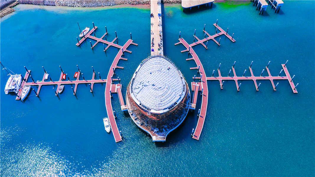 恒大海花岛实景图