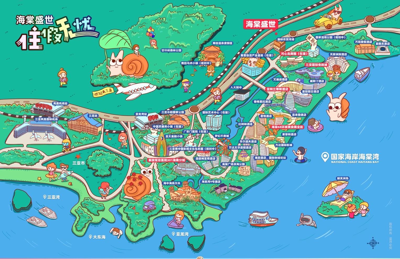 海棠盛世交通图