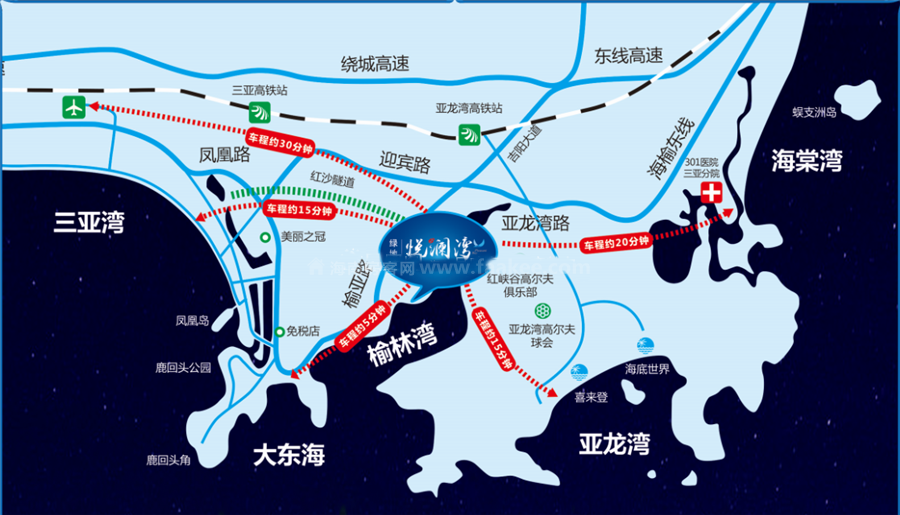 绿地悦澜湾区位图
