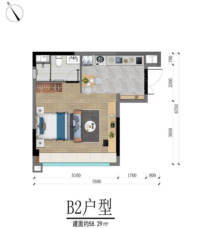 B1户型  1室1厅1卫  建面58.29㎡.jpg