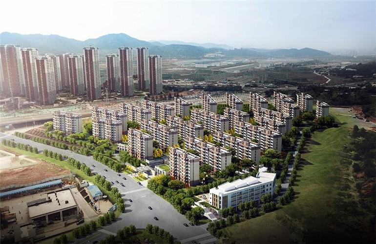 新城和樾鸟瞰图