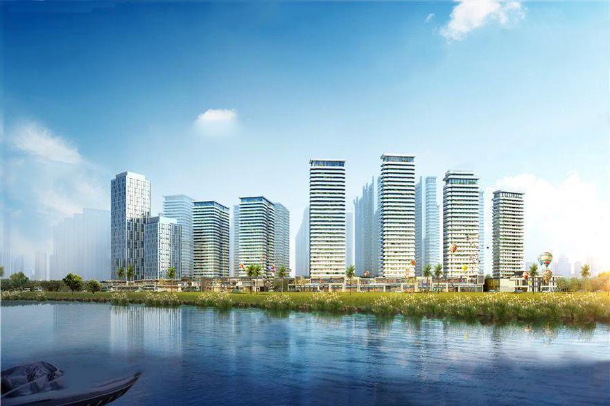 防城港彰泰观江海位置优越 距市政府约3.5公里