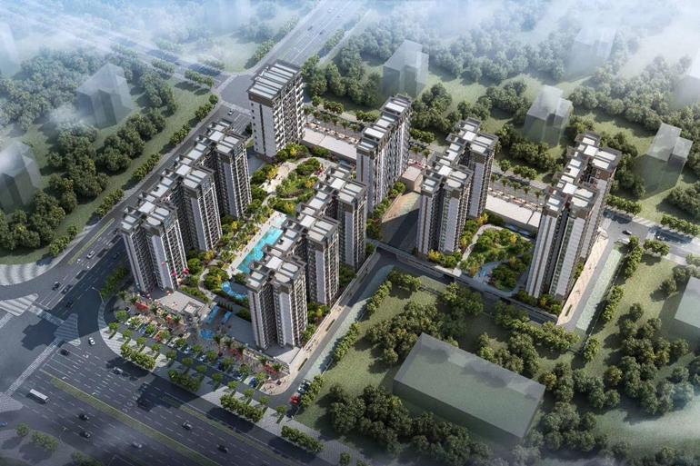 防城港博园御府落地景观窗,4.6米超宽客厅,让生活更如意