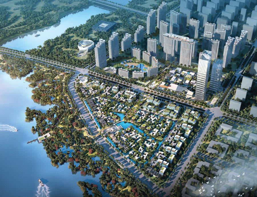 北海阳光城悦江海户型方正 全明设计 园林美景尽收眼底