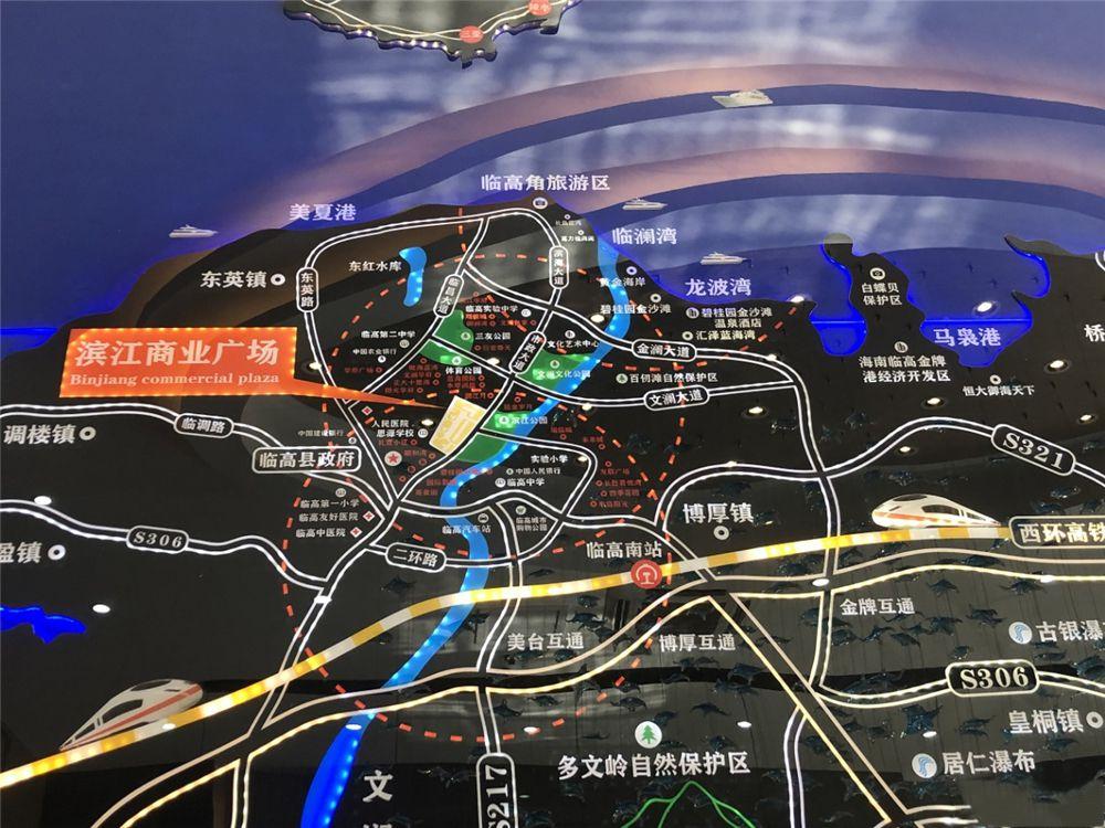 滨江广场交通图