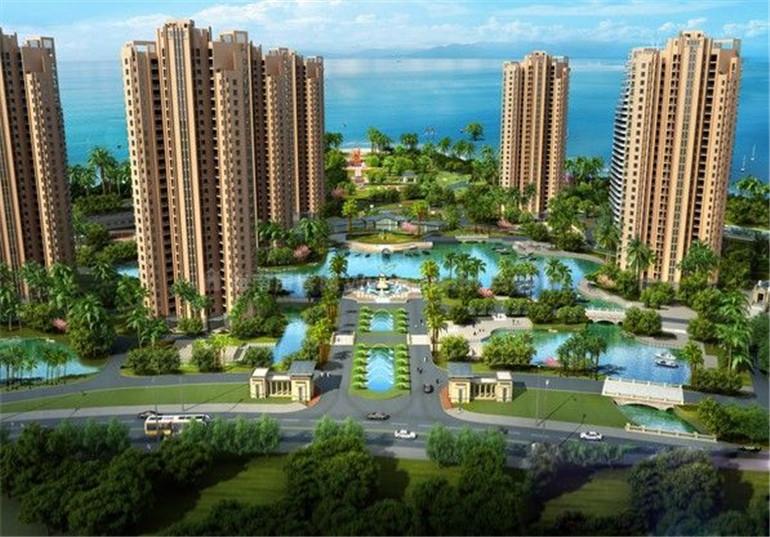 临高长岛蓝湾丨环抱双湾的度假生活综合体,均价11800元/㎡