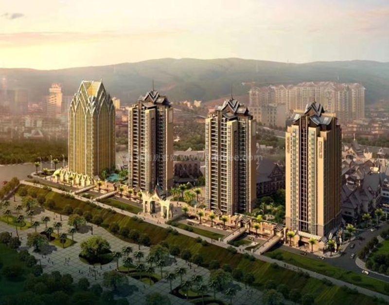 西双版纳版纳印象,建面约35—55㎡,澜沧江旁
