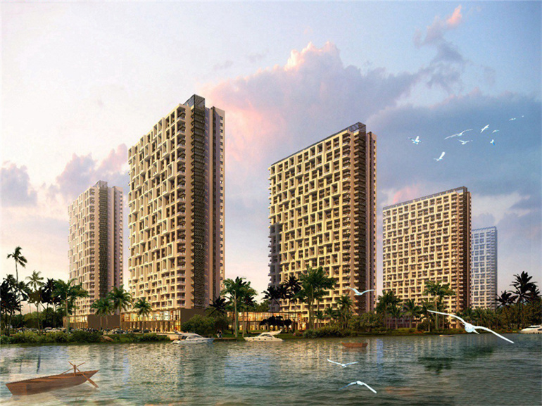 临高恒泰琉金岁月推出5套优惠住宅,总价约47万/套